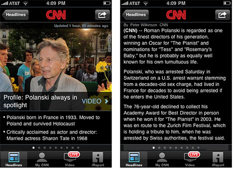 CNN-iphone-5-app