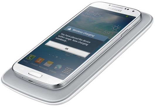Samsung Galaxy S4 wireless charging cover white